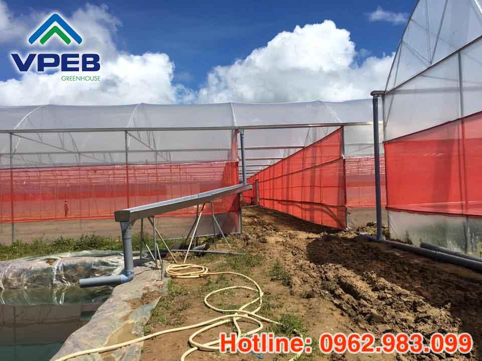 Lưới chắn côn trùng màu đỏ