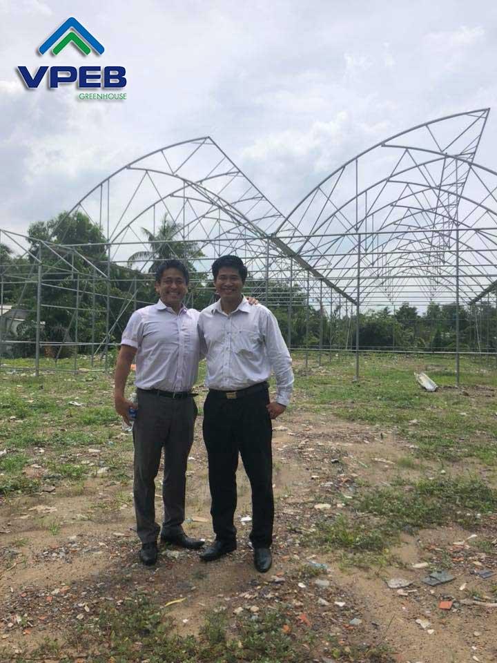 Chuyên gia Nông nghiệp Nhật Bản đã ghé Thăm những bước đầu thì công mô hình trồng dưa lưới