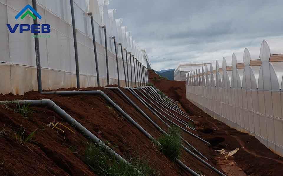 Ống nhựa cấp thoát nước nhà kính nông nghiệp