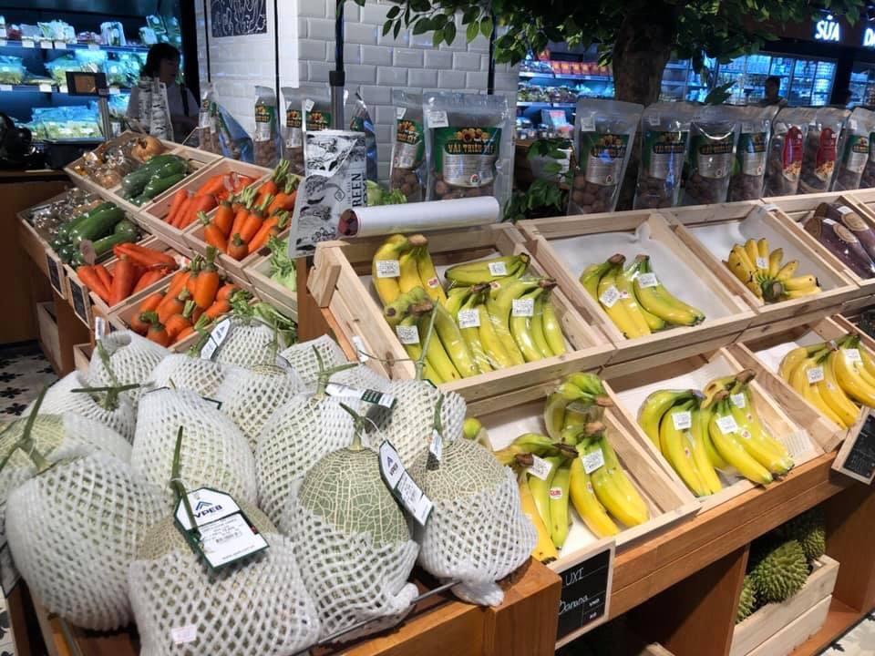 Dưa lưới VPEB GREENHOUSE được bán tại các hệ thống siêu thị